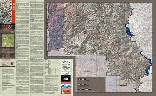 Arizona Hunt Unit 21 Map & App Package