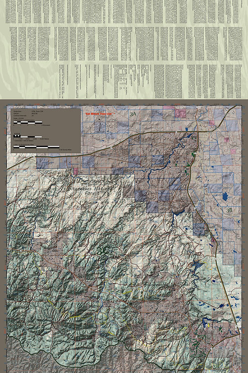Arizona Hunt Unit 3C Map & App Package