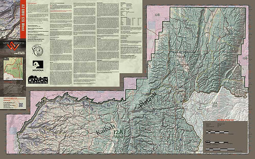 Arizona Hunt Unit 12A West Map
