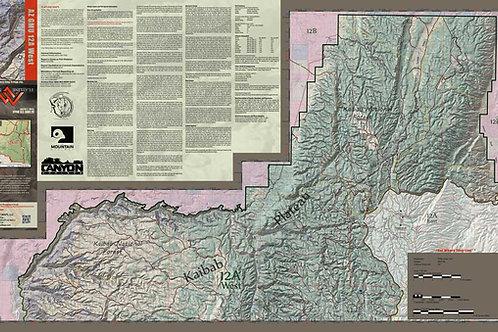 Arizona Hunt Unit 12A West Map