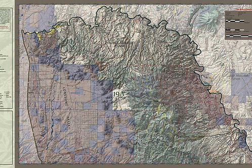 Arizona Hunt Unit 19A Map