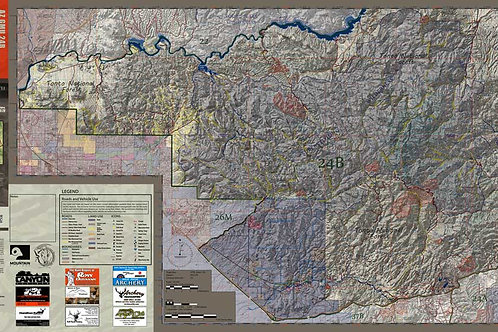 Arizona Hunt Unit 24B Map