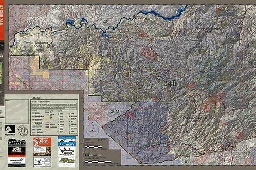 Arizona Hunt Unit 24B Map & App Package