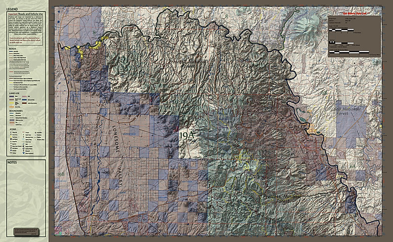 Unit 19A Map