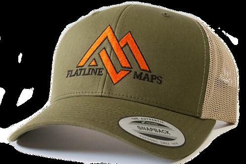 Moss/Khaki Trucker Hat