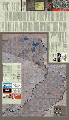 Map Of Unit 4a Arizona.Arizona Hunt Unit 4a Map