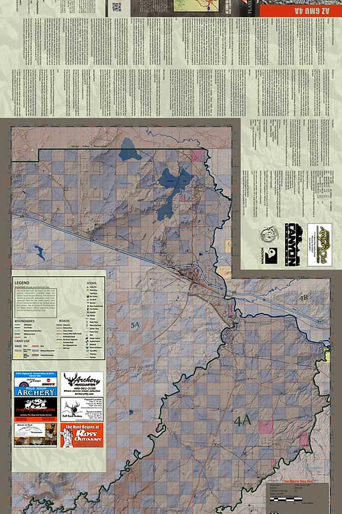 Arizona Hunt Unit 4A Map & App Package
