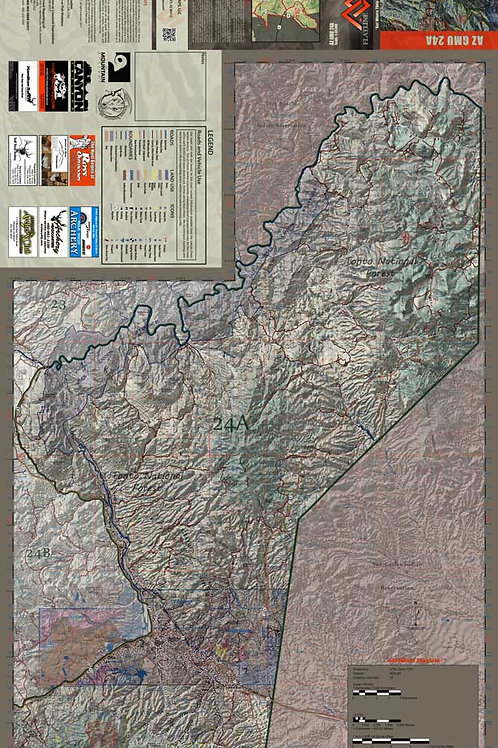 Arizona Hunt Unit 24A Map