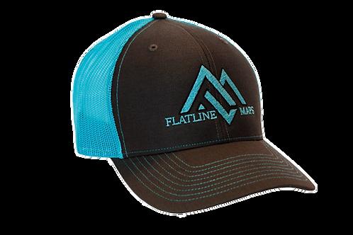 Gray/Teal Trucker Hat