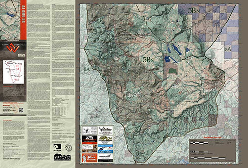 Arizona Hunt Unit 5B Map & App Package
