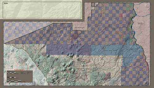 Arizona Hunt Unit 7 East Map & App Package