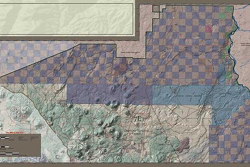Arizona Hunt Unit 7 East Map
