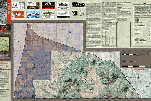 Arizona Hunt Unit 7 West Map