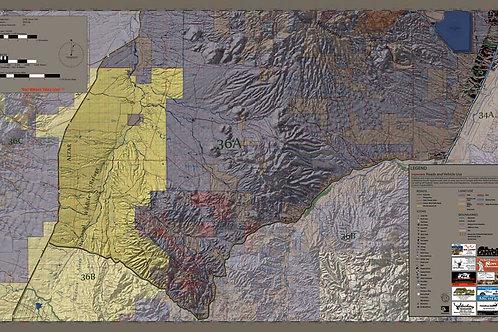 Arizona Hunt Unit 36A Map & App Package