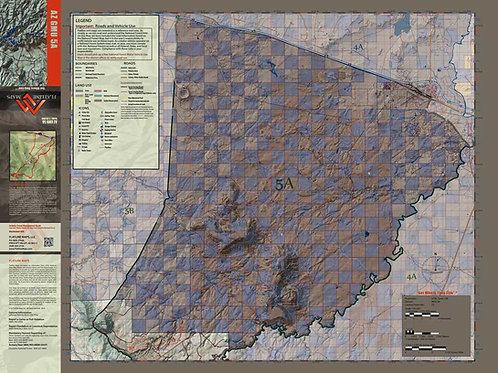 Arizona Hunt Unit 5A Map