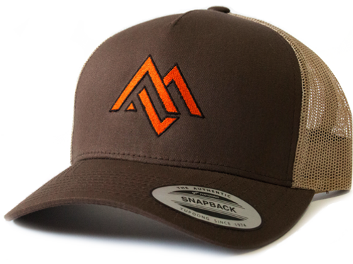 Brown/Khaki Trucker Hat