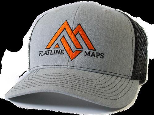 Gray/Black Trucker Hat