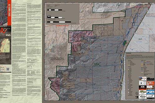 Arizona Hunt Unit 36C Map