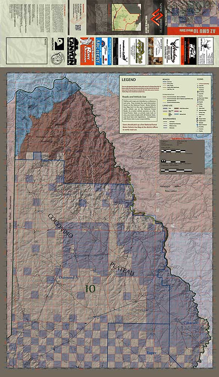 Arizona Hunt Unit 10 West Side Map
