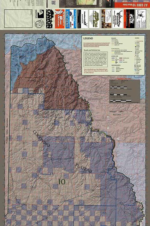 Arizona Hunt Unit 10 West Side Map