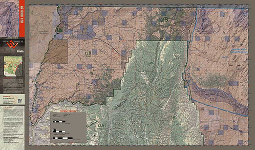 Arizona Hunt Unit 12B Map & App Package