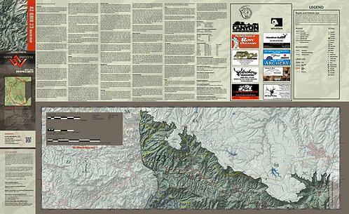 Arizona Hunt Unit 23 North Half Map
