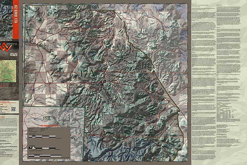 Arizona Hunt Unit 17A Map & App Package