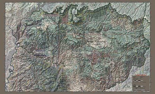 Arizona Hunt Unit 22 North Half Map