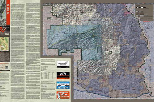 Arizona Hunt Unit 33 Map & App Package
