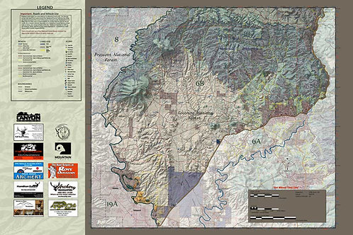 Arizona Hunt Unit 6B Map & App Package