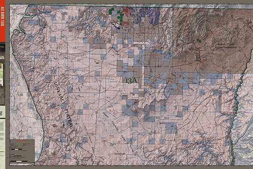 Arizona Hunt Unit 13A Map & App Package