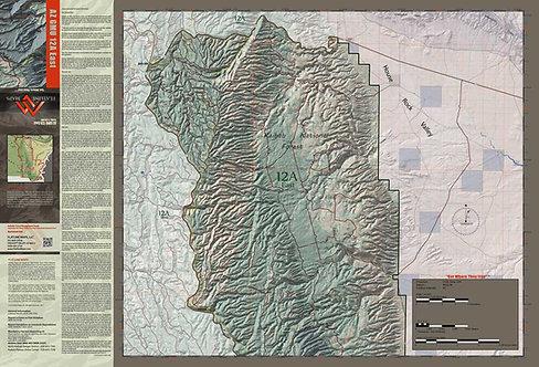 Arizona Hunt Unit 12A East Map & App Package