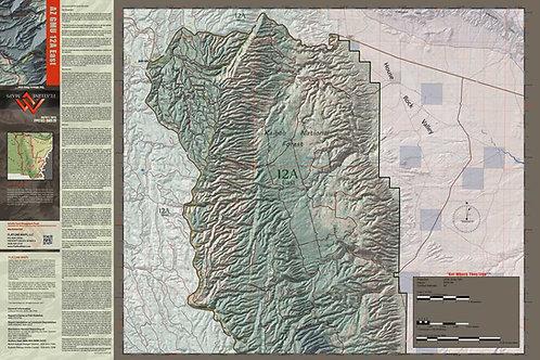 Arizona Hunt Unit 12A East Map