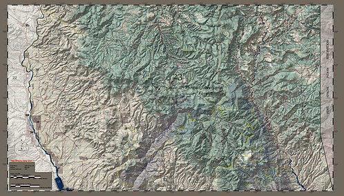 Arizona Hunt Unit 23 South Half Map