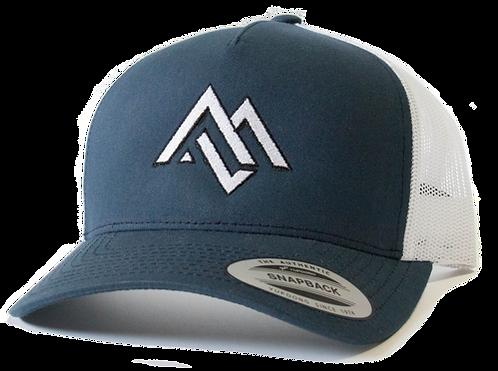 Blue/White Trucker Hat