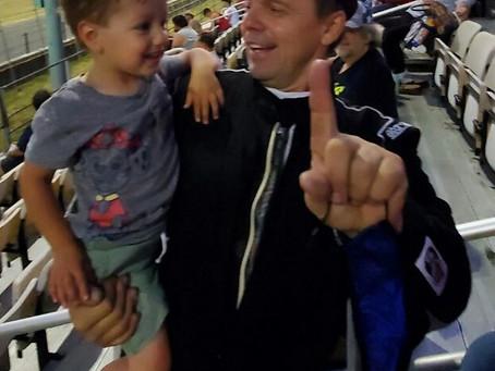 Gary's littlest fan