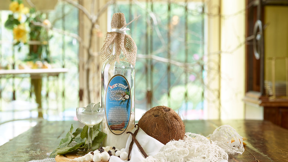 Caribbean Coconut Dream - Volle Nuss