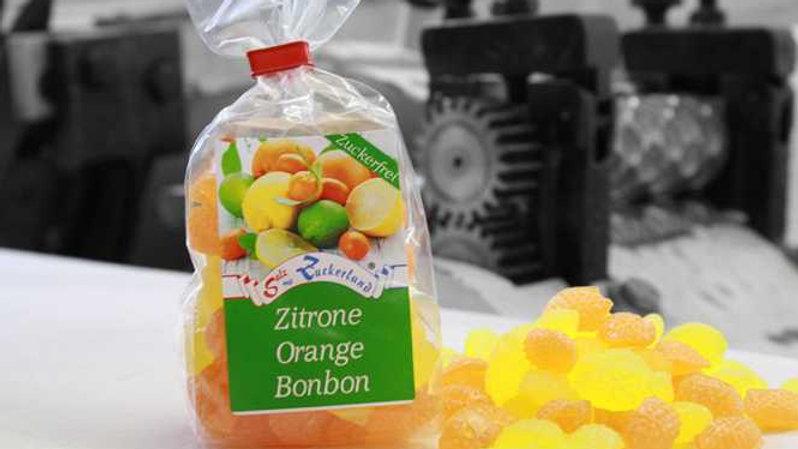 Zitrone & Orange Bonbon - zuckerfrei