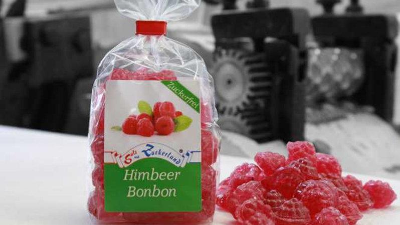 Himbeer Bonbon - zuckerfrei
