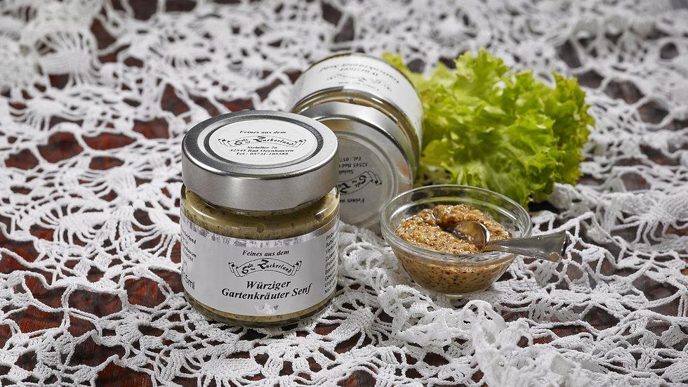 Würziger Gartenkräuter Senf