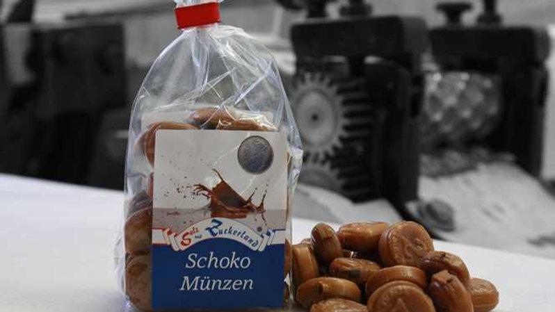 Schoko Münzen - Knuspertaler Bonbon
