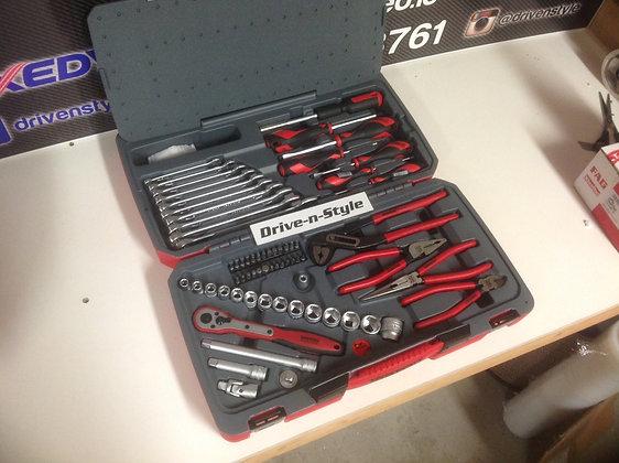 """TengTool 67pc 3/8"""" Tool Kit"""