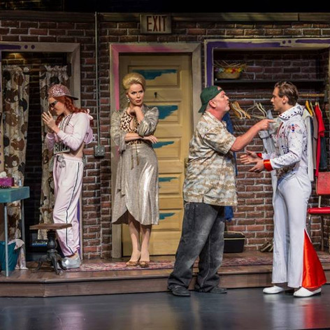 Rexy in The Legend of Georgia McBride at Waterfront Playhouse