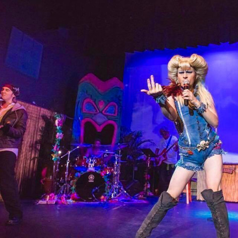 Hedwig in Hedwig and the Angry Inch at Key West Theater