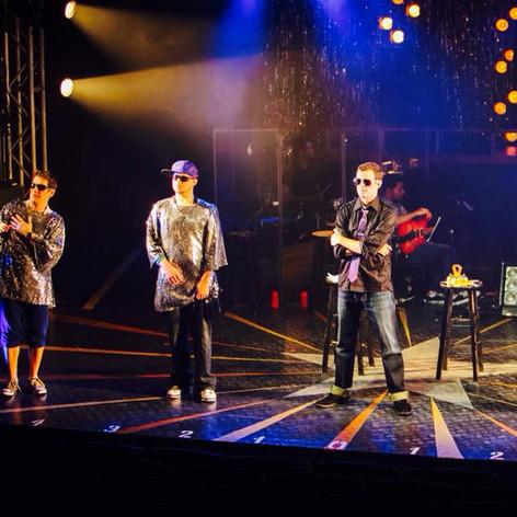 Mark in Altar Boyz at Theatre Arlington