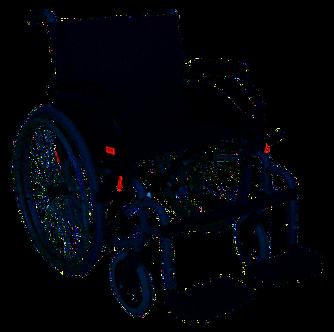 cadeira rodas XL
