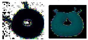Almofada Pele Sintética (Risco Baixo)