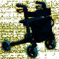 Andarilho/Carrinho 4 rodas