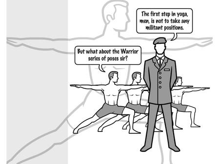 yoga - a state of balanced union