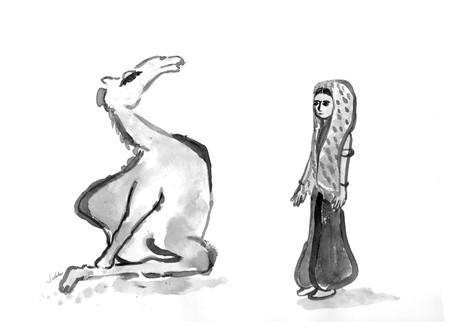 ustrasana - camel pose
